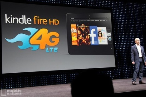 Amazon announces Kindle Fire HD 4G LTE with $50 per year data plan | Android Central | Android Technology | Scoop.it