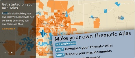 Esri Thematic Atlas | Spatial in Schools | Scoop.it