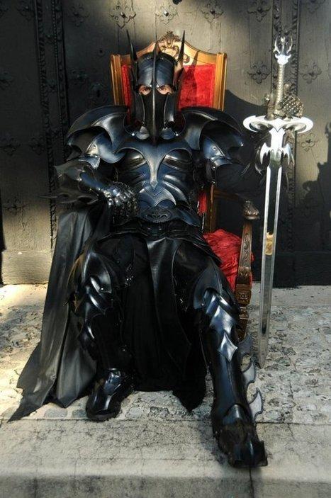 Medieval Batman Armor Makes Batman a True Dark Knight   All Geeks   Scoop.it