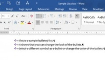 How to customize the bullets in a bulleted list how to customize the bullets in a bulleted list fandeluxe Images