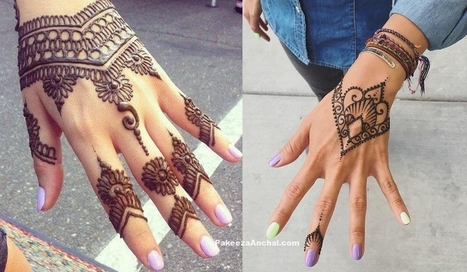 Simple yet elegent Mehendi Designs for 2017, #BridalMehendiDesigns, #EasyMehndiDesigns, #HandMehendiDesigns, #HandMehndiDesigns, #HennaTattoos, #SimpleMehendiDesigns | Indian Fashion Updates | Scoop.it