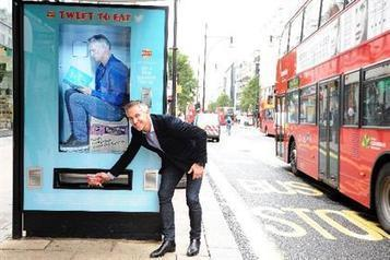 Walkers transforms London bus stops into Twitter-activated vending machines - Brand Republic News | International Marketing Communications | Scoop.it