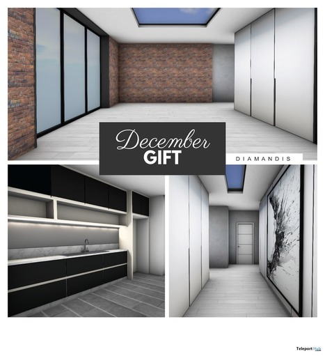 Mesh Skybox December 2016 Group Gift by Diamandis | Teleport Hub - Second Life Freebies | Second Life Freebies | Scoop.it