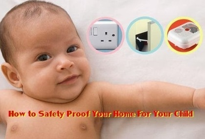 All About Babies: How to Safety Proof Your Home For Your Child | BELLY FAT SOLUTION | Scoop.it