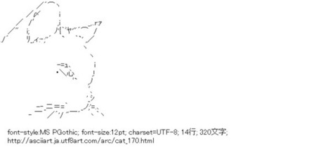 猫 | ASCII Art | Scoop.it