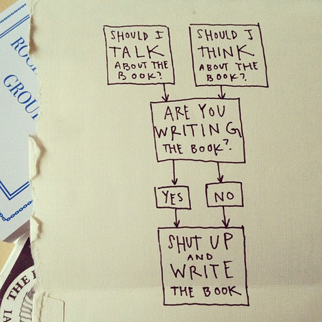 Handy flowchart for writing a book: | Writing with Fire | Scoop.it