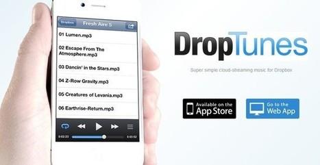 DropTunes, un reproductor web para la música que almacenas en Dropbox | Conocimiento libre y abierto- Humano Digital | Scoop.it