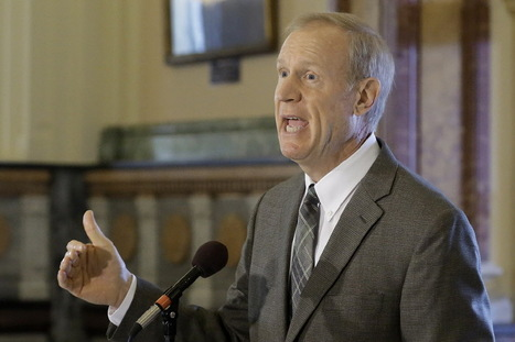 Rauner: Democrats' call for $1.4B extra spending a 'poison pill' - Chicago Sun-Times | Illinois Legislative Affairs | Scoop.it