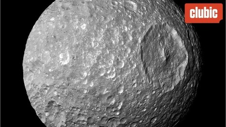 La NASA publie une photo de l'Etoile de la Mort, la lune de Saturne | The Blog's Revue by OlivierSC | Scoop.it