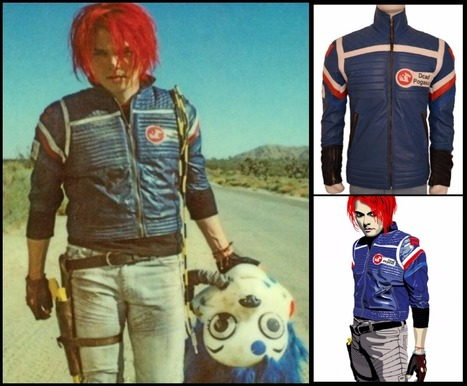 Party Poison Cosplay Leather Jacket Top Celeb