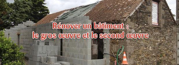 Rénover un bâtiment : quelles différences entre le gros-œuvre et le second-œuvre ? | La Revue de Technitoit | Scoop.it