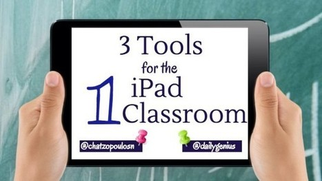 3 EdTech Tools for the One iPad Classroom - Daily Genius | The 1 iPad Classroom | Scoop.it