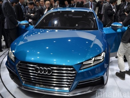 Audi Unveils Allroad Shooting Brake Hybrid at the 2014 Detroit Auto Show | Sustain Our Earth | Scoop.it