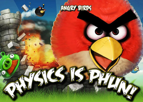 Angry Birds in the Classroom - LiveBinder | PhysicsLearn | Scoop.it