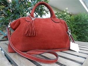 ed6ed6141c Borsa Donna pelle rossa | Borse artigianali Pel...