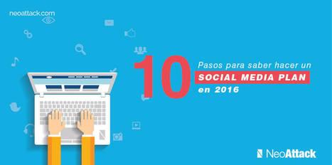 ➨ Como hacer un Plan Social Media en 2016 | Mundo Marquetero Digital | Scoop.it