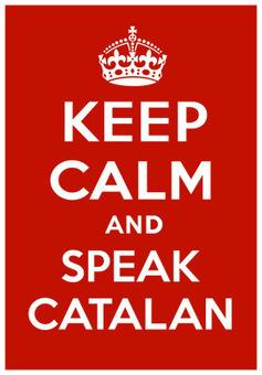 El lema 'Keep calm and speak Catalan' envaeix la xarxa i esdevé un crit de defensa de l'ensenyament encatalà | Escola i Educació 2.0 | Scoop.it