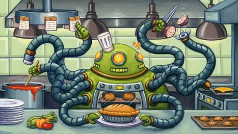 Are Robots Really Destined to Take Over Restaurant Kitchens? | The Robot Times | Scoop.it