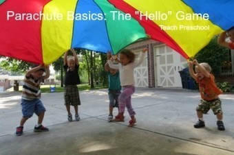 Parachute basics: The hello game | Happy Days Learning Center - Resources & Ideas for Pre-School Lesson Planning | Scoop.it