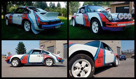 Rally car car advertising kelowna