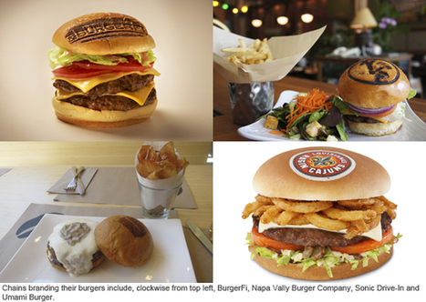 Sonic, Umami Burger, BurgerFi see success with branded burger buns | Nation's Restaurant News | finger food | Scoop.it