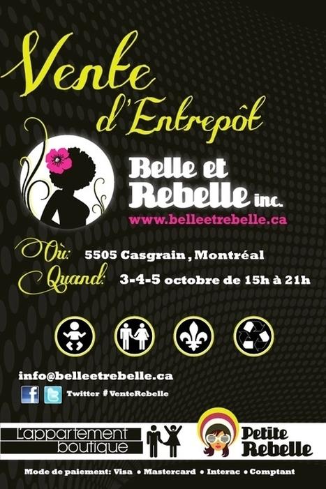 Grande vente d'entrepôt chez Belle et Rebelle   Mode Montréal   All Dressed   Scoop.it
