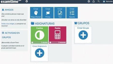 ExamTime, más que un sustituto online de las fichas de estudio y esquemas en papel | Enseñar Geografía e Historia en Secundaria | Scoop.it