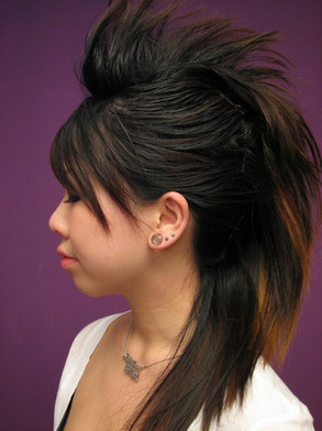 Cautions for Faux Hawk Hairstyle for Women   Hair Summary   Hairstyle   Scoop.it