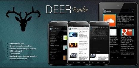 Deer Reader Lite - Applications Android sur GooglePlay | WEBOLUTION! | Scoop.it