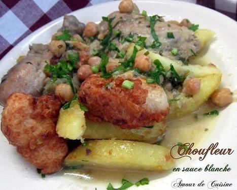 chou-fleur en sauce blanche, cuisine algerienne | Cuisine Algerienne, cuisine du monde | Scoop.it
