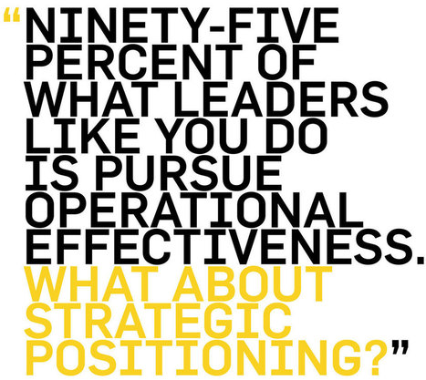Business Strategy Advice from Michael Porter: Differentiation Matters | CMO Smarts | Scoop.it