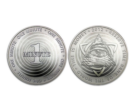 Time is Money - Currency Concept by Vladislav Novikov-Barkovsky » Yanko Design | Internet Hunting | Scoop.it