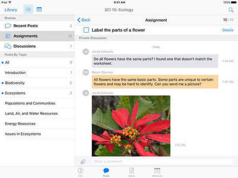 Apple Updates iTunes U With iPad Pro Support, Images in Posts, More   LMSs and the Future of Online Learning   Scoop.it