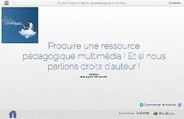 Les droits d'auteurs dans la production de ressources pédagogiques multimédias   sensibilisation aux médias   Scoop.it