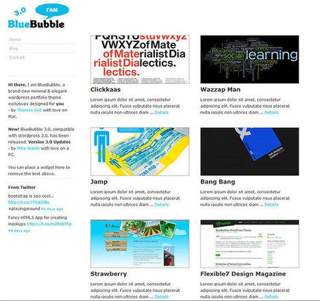 27+ Free and Premium Left Menu Wordpress Themes | Crazy Pixels | Design Revolution | Scoop.it