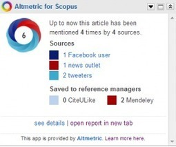 Measuring Scholarly Impact: Altmetrics and Altmetric for Scopus ... | Researcher Identity | Scoop.it