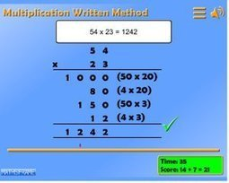 Multiplication and Division - Mathsframe | Grade 5 Math Games | Scoop.it