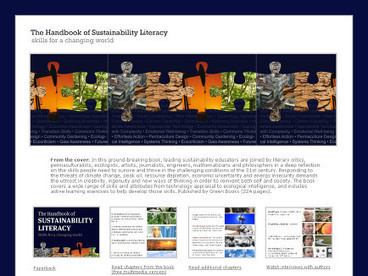The Handbook of Sustainability Literacy | Curriculum innovation | Scoop.it