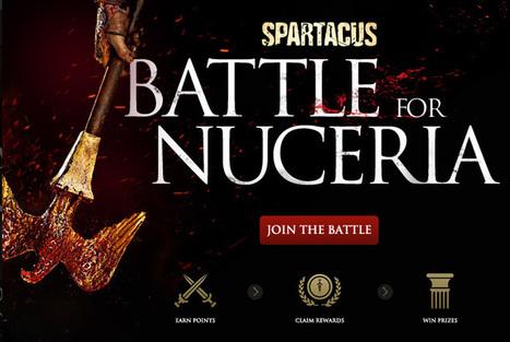 Battle For Nuceria : l'attente transmedia de la prochaine saison de Spartacus | Experience Transmedia | Experience Transmedia | Scoop.it