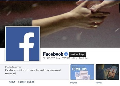 Facebook Launches Verified Accounts For Brands, Celebrities & Public Figures | Social Media, the 21st Century Digital Tool Kit | Scoop.it