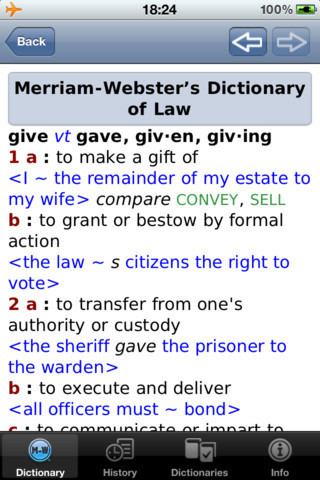 Merriam-Webster's Law Dictionary Goes Mobile | English (not only) for Geeks | Scoop.it