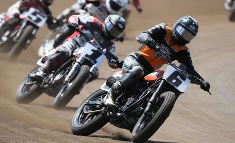American Flat Track comes to NBCSN starting in July 2017 | California Flat Track Association (CFTA) | Scoop.it