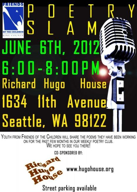 Friends of the Children Poetry Slam | Richard Hugo House | Poetry resources | Scoop.it