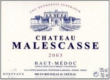 Bordeaux 2013: Chateau Malescasse will not make a 2013 wine   Autour du vin   Scoop.it