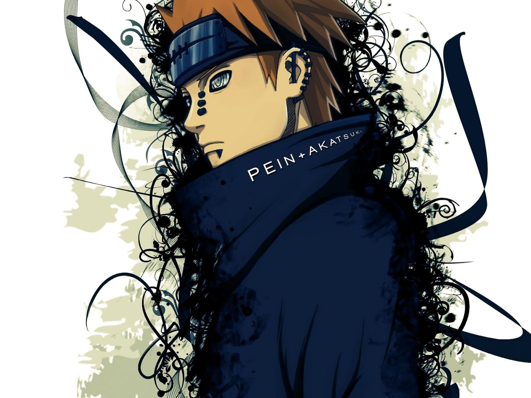 Ảnh Naruto Anime Pain Akatsuki - Tả..