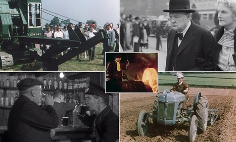 Those were the days: From England's pubs to Sheffield's steel industry and preparations for war - film archive reveals how life was in 1930s and 40s Britain | British Genealogy | Scoop.it