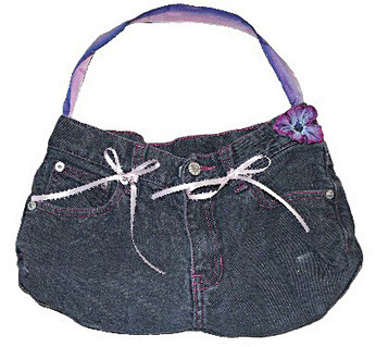 Jean Purse Sewing Pattern | Easy Sewing Projects for Kids | Scoop.it