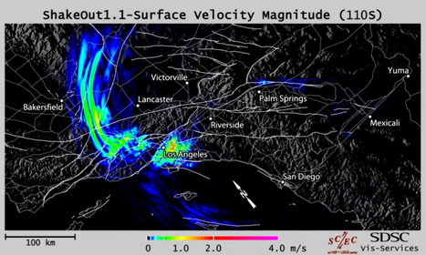 'Virtual earthquakes' used to forecast Los Angeles quake risk | Sustain Our Earth | Scoop.it