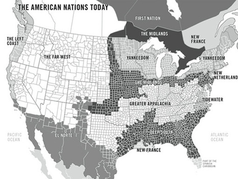 The 11 Rival Regional Cultures of North America - The Chronicle Review - The Chronicle of Higher Education | Southern Geographies | Scoop.it