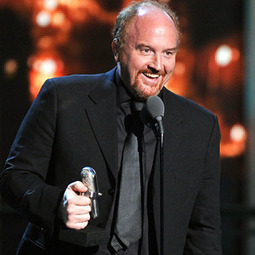 "Louis C.K. Addresses Profane Sarah Palin Tweets: ""I Don't Think She's Some Sacred Person"" - E! Online 